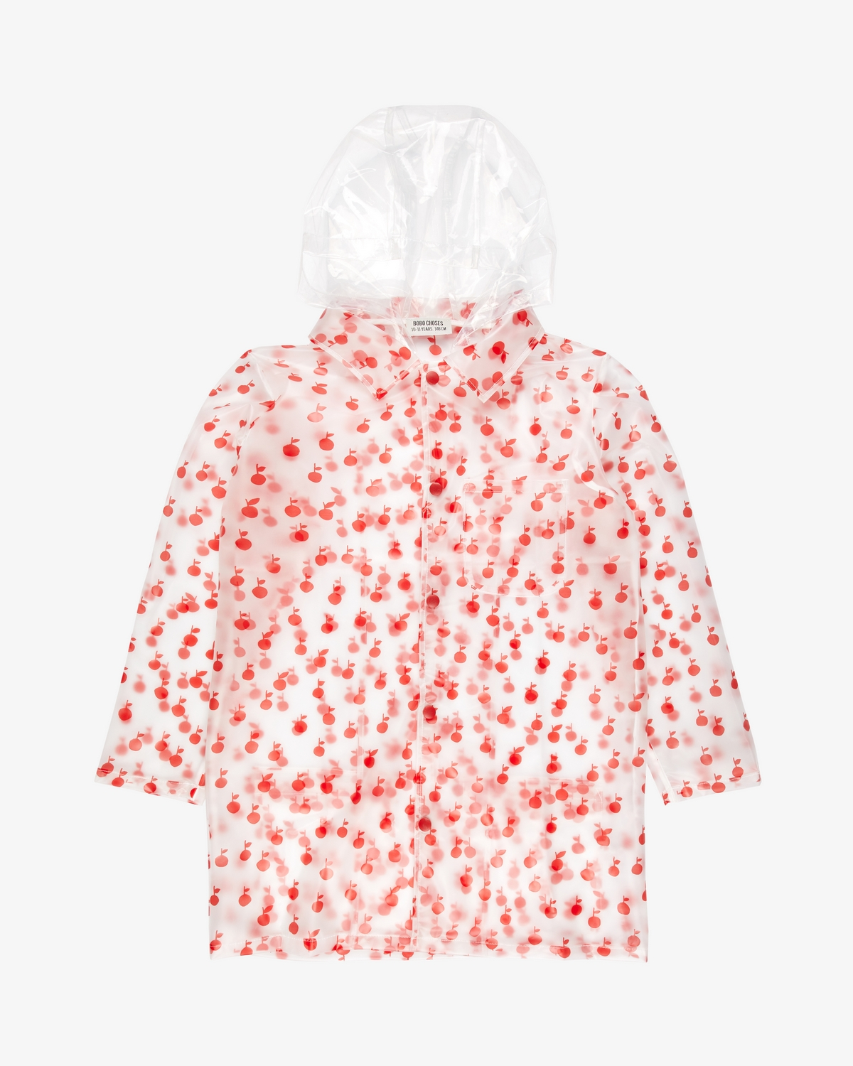 Bobo Choses Apples Raincoat sadetakki
