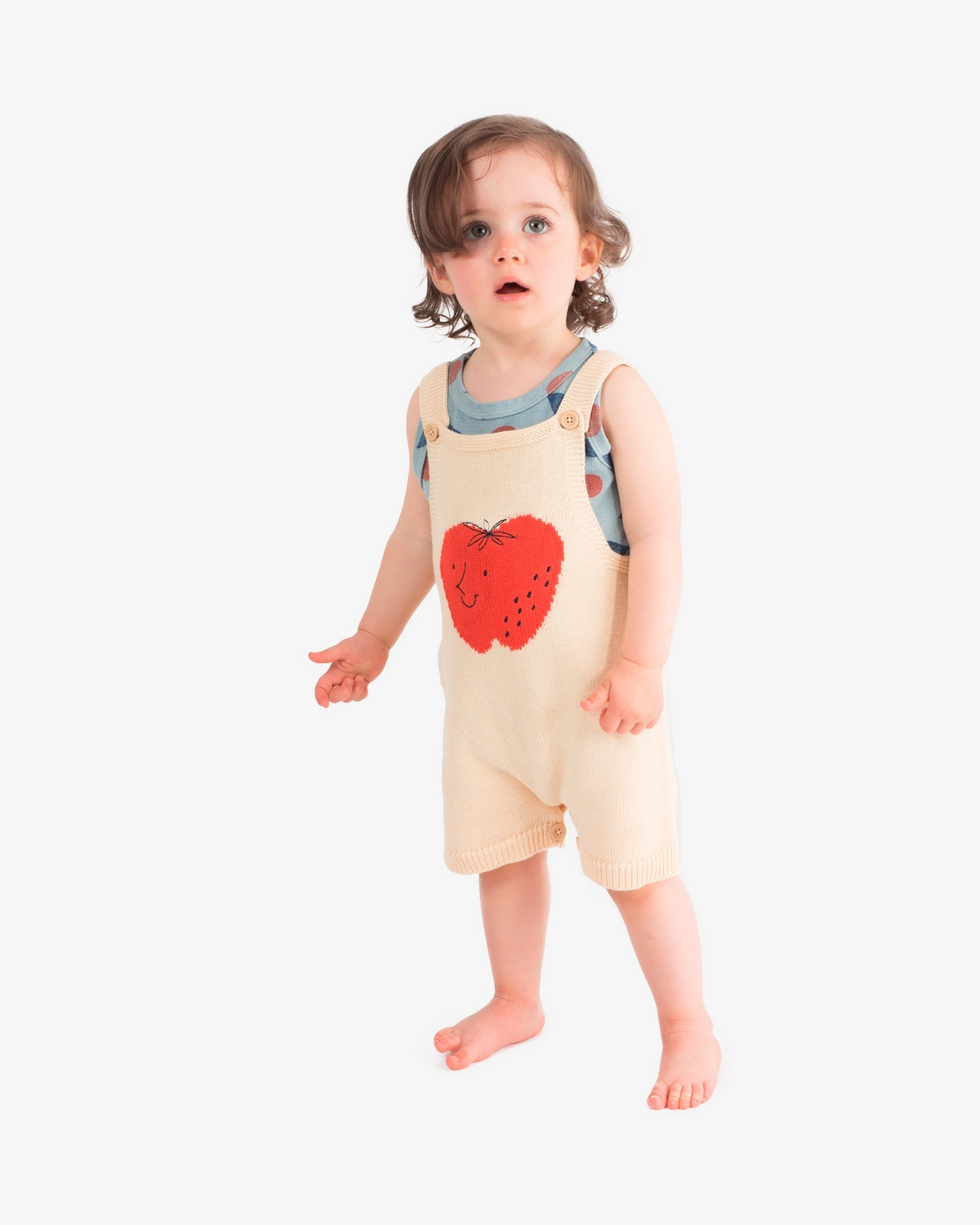 Bobo Choses Strawberry jumpsuit