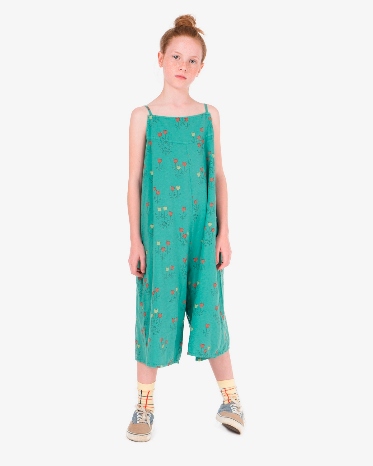 Bobo Choses Poppy Prairie Straps jumpsuit