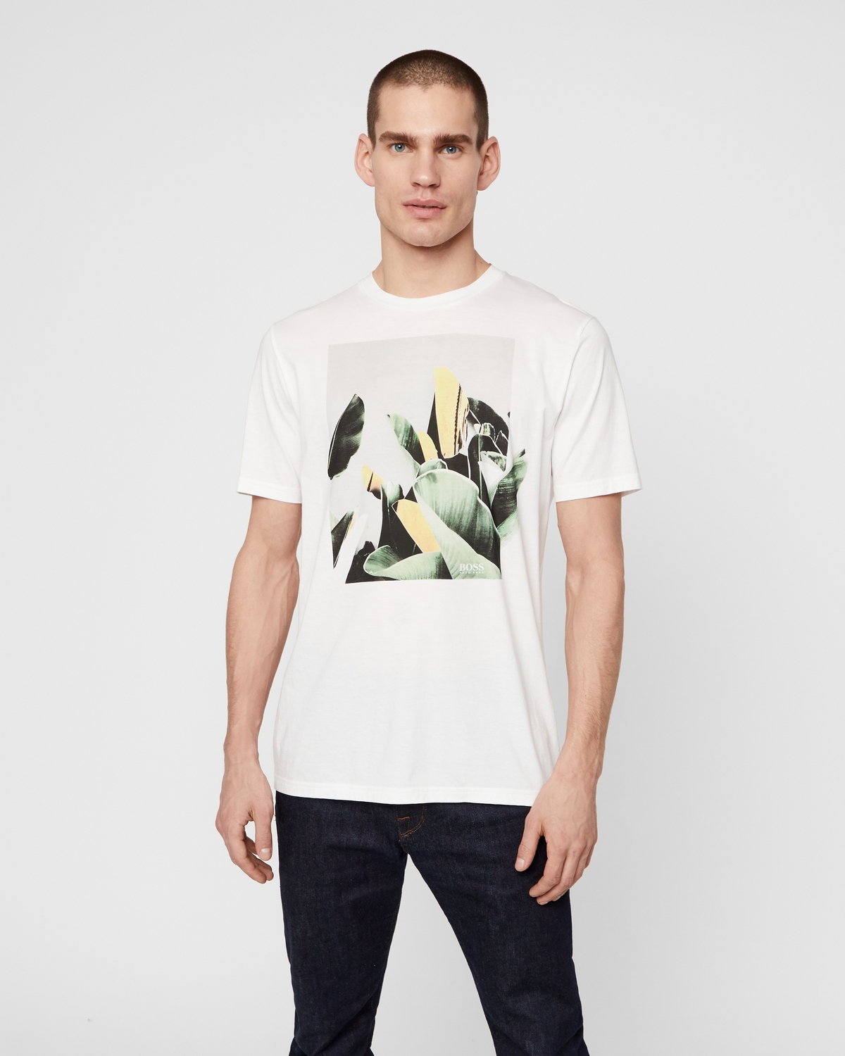 Se BOSS ATHLEISURE Tejungle T-shirt ved Stylepit